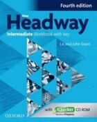 Kurzy angličtiny Praha - Praha 11 - Háje - Učebnice New Headway Intermediate the FOURTH edition Workbook with key