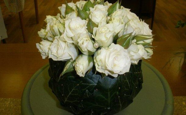 Umělé květiny v interiéru