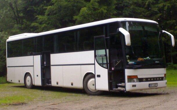 Autobus Profesionální řidič mezinárodní dopravy