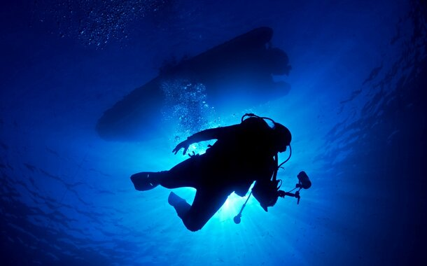 Open Water Diver - kurz dokončený u moře.