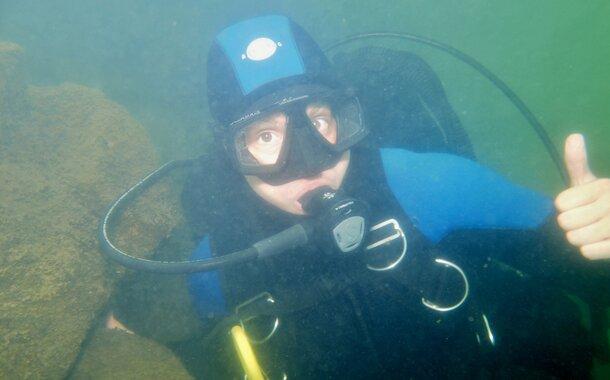 VIP kurz potápění P1/OWD na lomu Srní