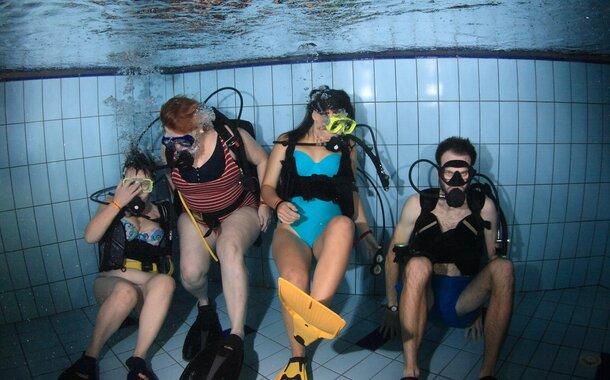 Kopie - Vyzkoušej si ponor s přístrojem