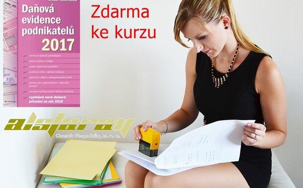Daňová evidence podnikatelů 2017 - distanční kurz