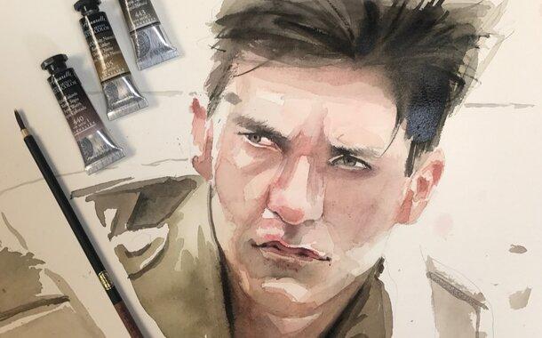 Akvarel pro začátečníky (18.2.2018) NEDĚLNÍ SPECIÁL