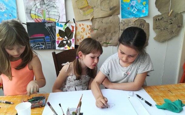 Kreslení a malování pro děti - úterý 16-18