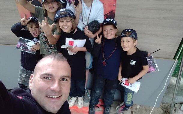 Sebeobrana pro děti Základní škola T.G.Masaryka