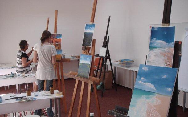 Letní kurz olejomalby - malba špachtlí a štětcem, 1 den mezi 28. a 31. srpnem