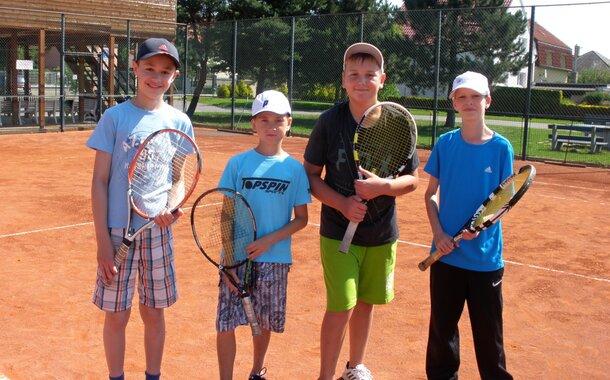 Tenisová škola pro děti od 4 let Praha Běchovice
