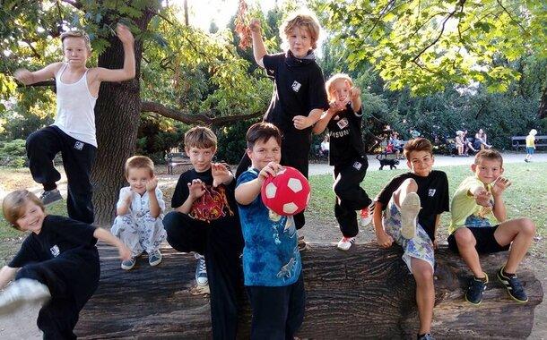 Sebeobrana a rozvoj pohybu pro děti