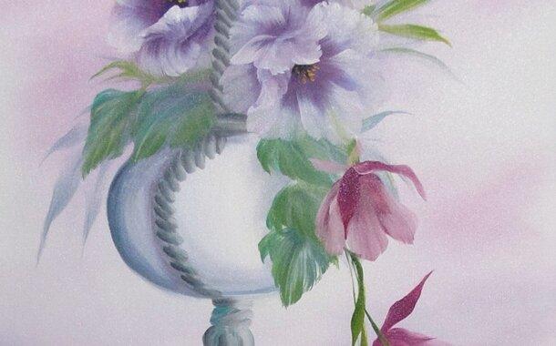 Namaluj si květinu vhodné i pro začátečníky