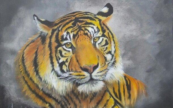 Olejomalba Bob Ross Jihlava - v ceně kurzu plátno 60x50cm.Malířské a další pomůcky  k dispozici na kurzu !!!