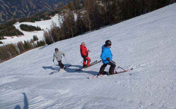 Instruktor lyžování - kompletní kvalifikační kurz Šumava