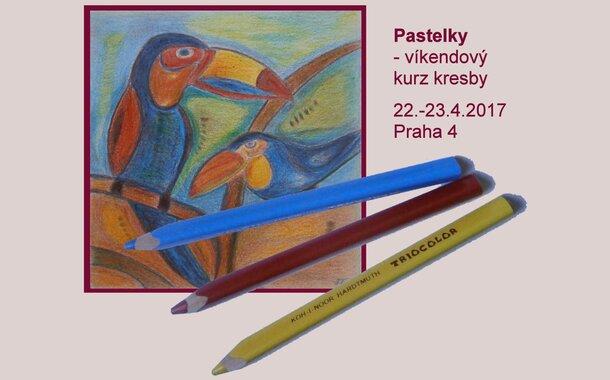 Dvoudenní kurz Kreslení pravou mozkovou hemisférou II. - Pastelky, 22.-23.4. Praha